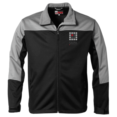 Jacket Mens Black Grey