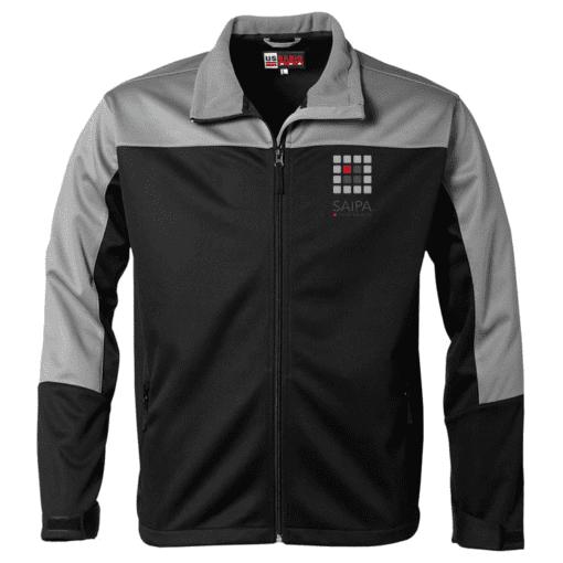 Jacket Mens Black Grey
