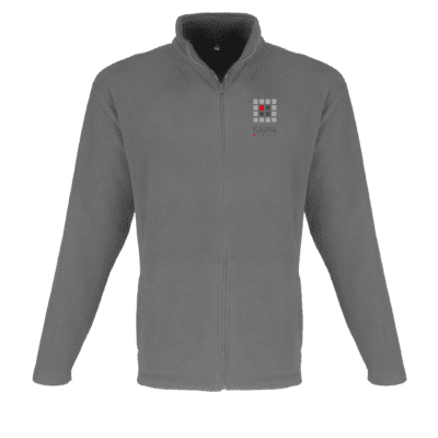 Jacket Micro Fleece Mens Grey