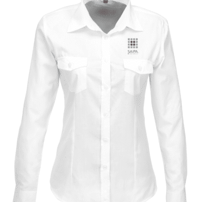 Shirt Ladies Long Sleeve White