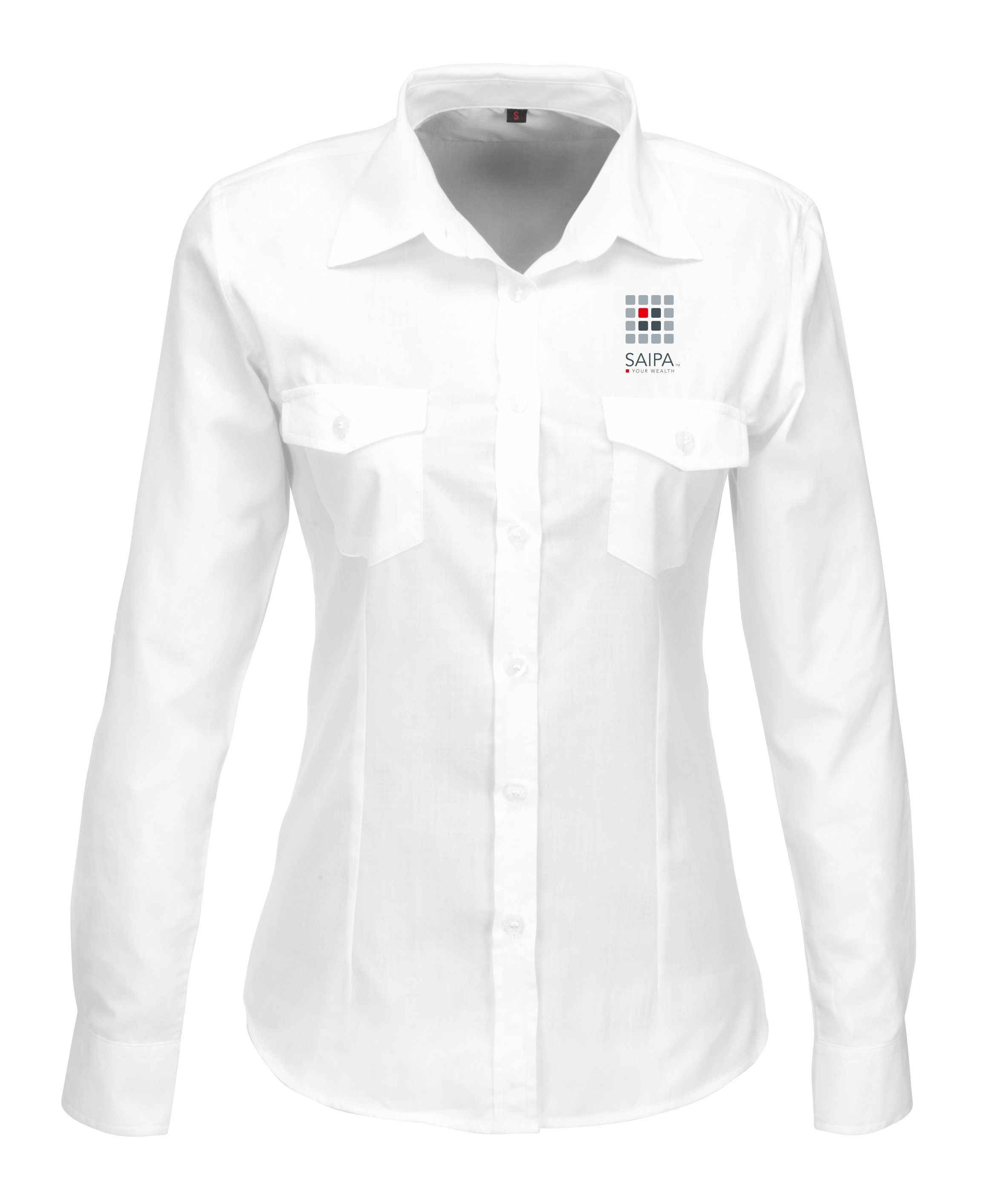 LADIES SHIRT LONG SLEEVE WHITE - SAIPA 40fc6d92dc23