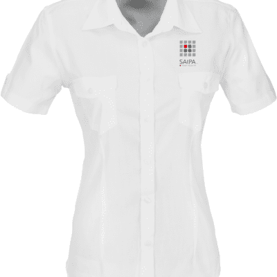 Shirt Ladies Short Sleeve White