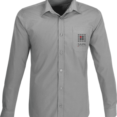 Shirt Mens Long Sleeve Grey