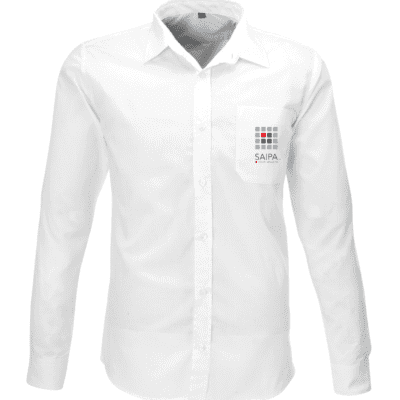 Shirt Mens Long Sleeve White