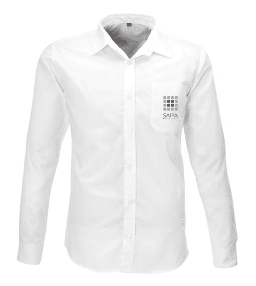 Shirt Mens Long Sleeve White