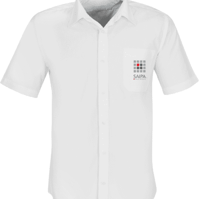 Shirt Mens Short Sleeve White